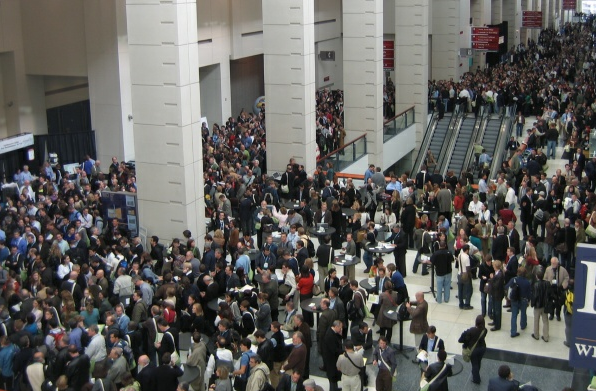 Washington DC Convention Center Crowd