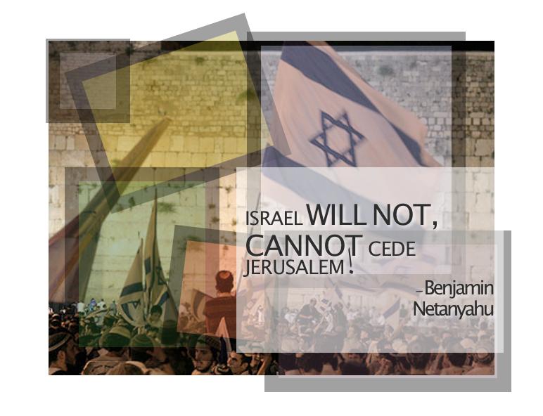 Benjamin Netanyahu Jerusalem Day speech