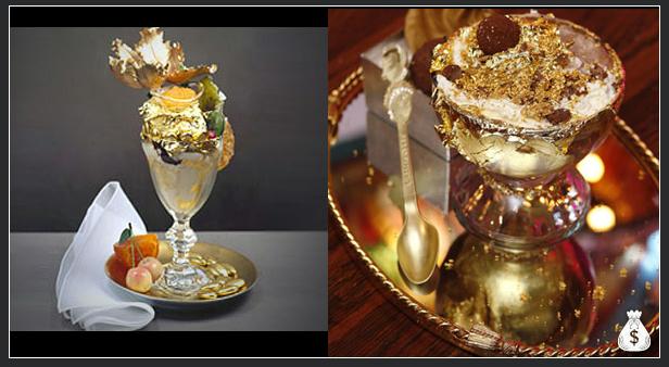 $1,000 Most Expensive Ice Cream Sundae